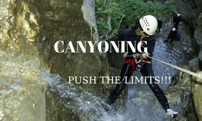 canyoning kas