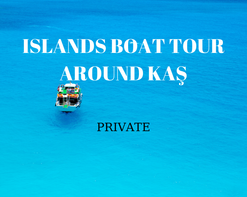 kas private boat tour