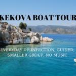 kekova boat trip