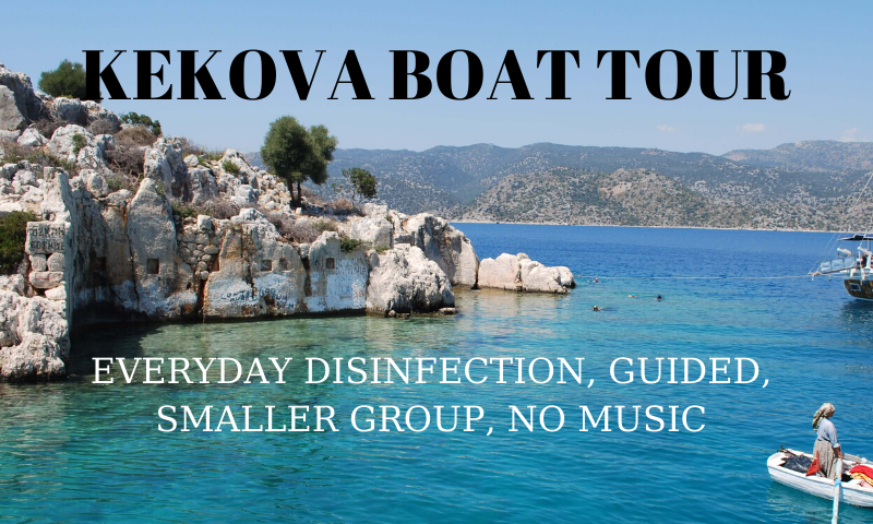 kekova boat tour