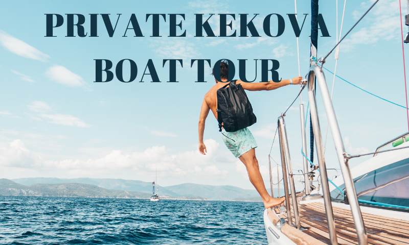 private kekova boat tour