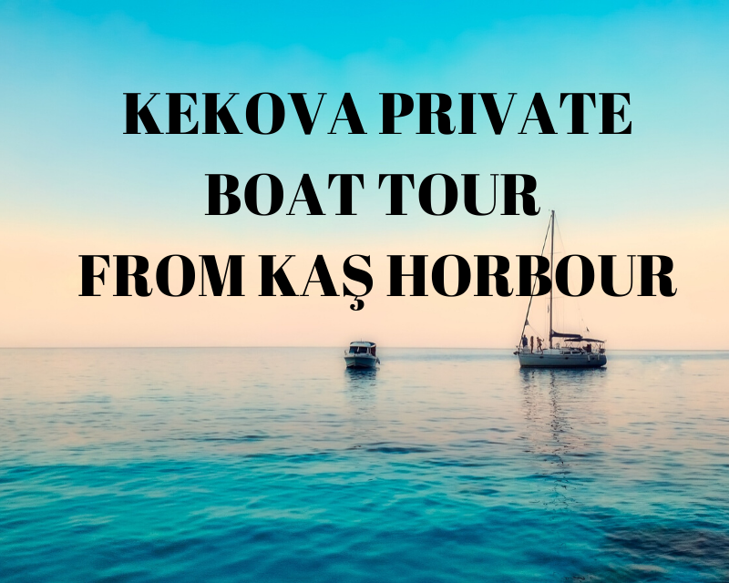 private kekova boat trip
