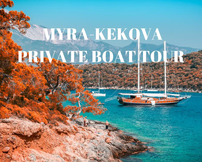 myra kekova boat tour
