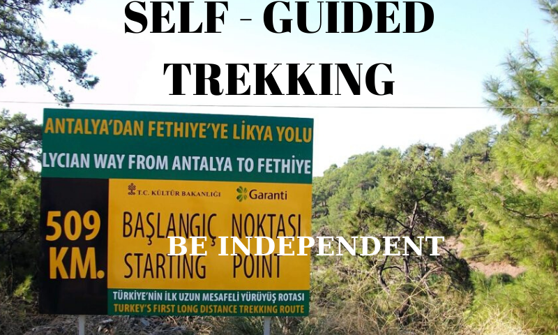 self guided trekking