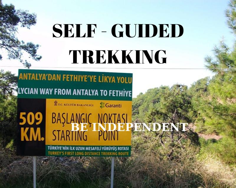self guided trekking